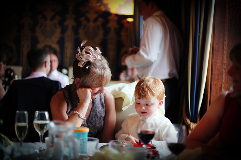 woman and young boy, Soughton Hall North Wales wedding