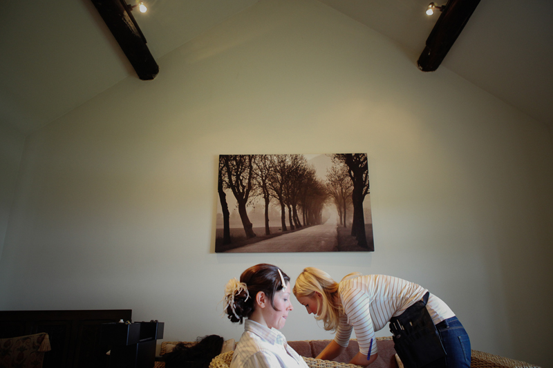 the bride, The Ashes, Staffordshire wedding