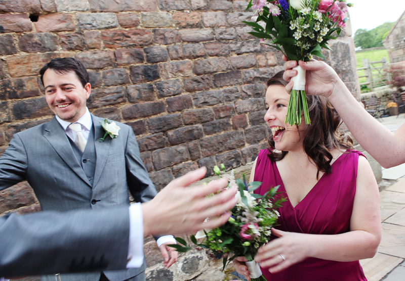 The Ashes, Staffordshire wedding