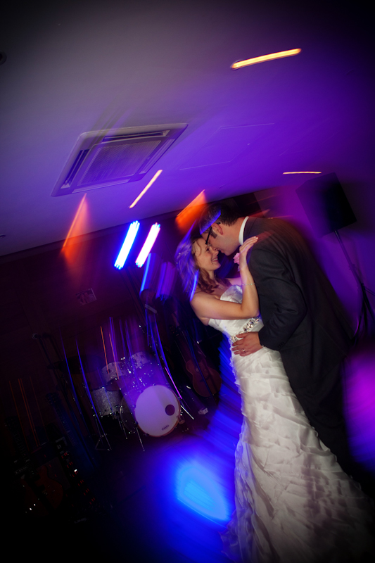 the bride and groom, wedding dance at Hope Street Hotel Liverpool