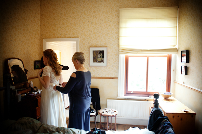 preparations for the bride, Manchester