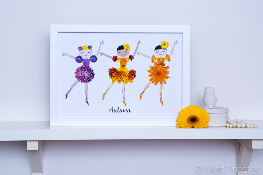 photographs of hand made greeting cards and illustrations by Bowdon designer Wendy Lee-16