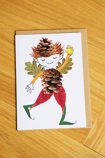 photographs of hand made greeting cards and illustrations by Bowdon designer Wendy Lee-18