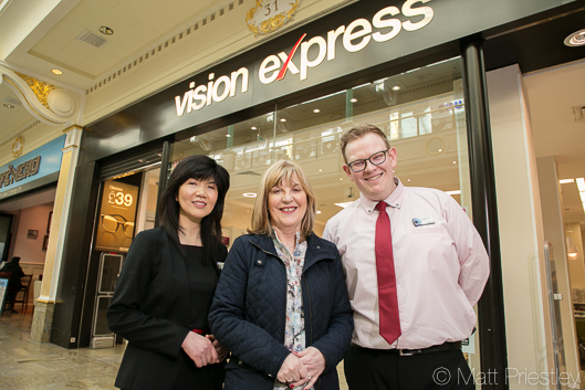 Public relations photograohy for Vision Express at the Trafford Centre-4