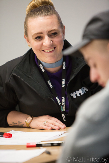 promotional photography for YMCA North Staffordshire by Manchester photographer Matt Priestley-45